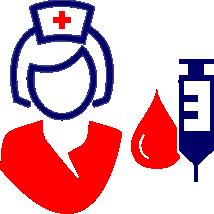 plicação de injetáveis de medicações prescritas por médicos